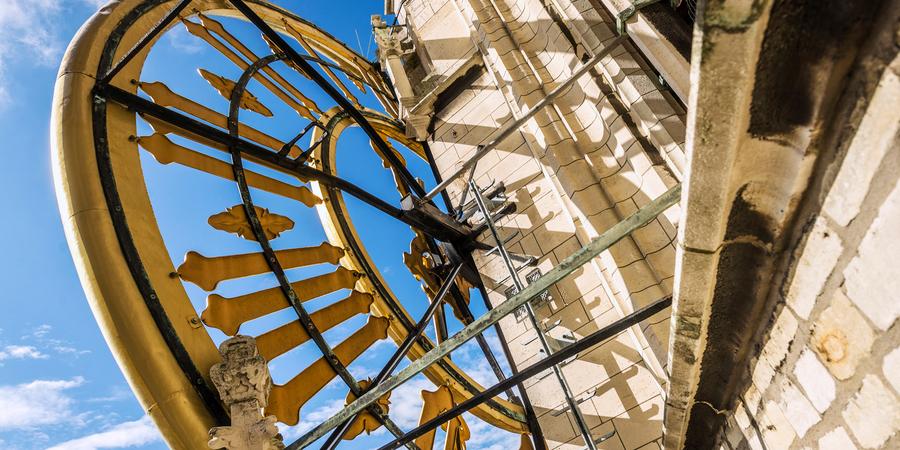 Klok van de kathedraaltoren