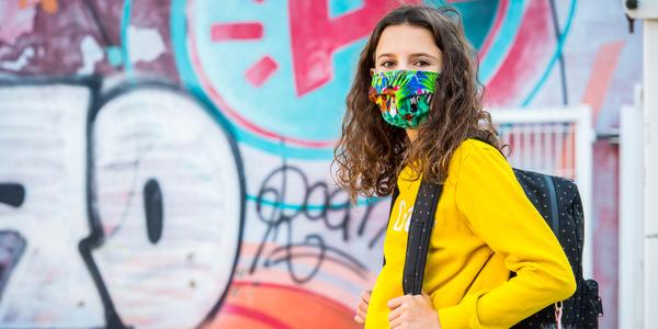 Coronavirus mondmasker jeugd