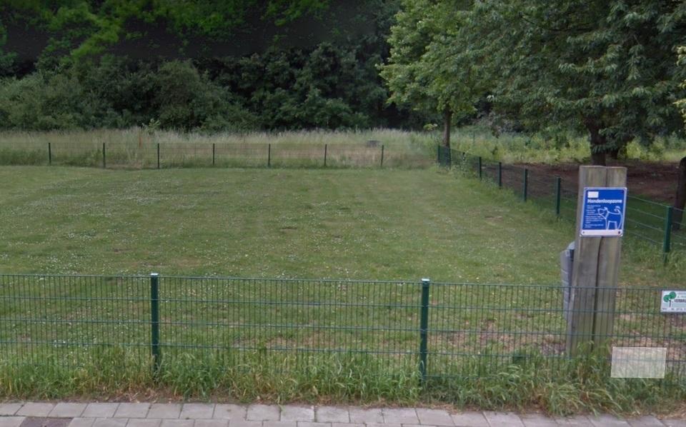 Foto van een hondenloopzone