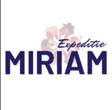 Het logo van het project Expeditie MIRIAM.