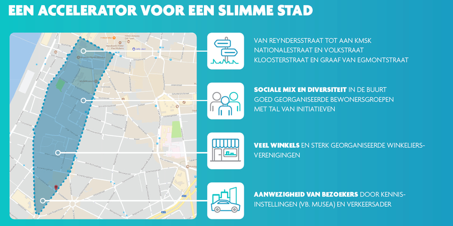 Sint-Andries is Smart Zone | Info | Antwerpen.be
