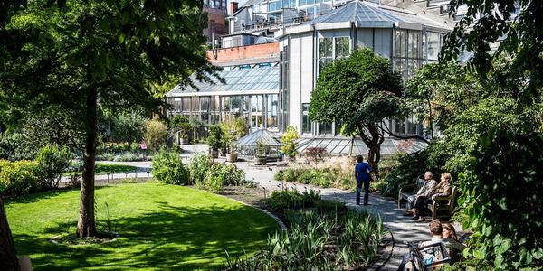 De Botanische Tuin in de Leopoldstraat