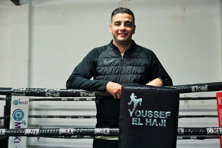 Youssef in de boksring