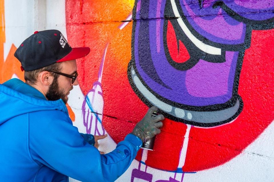 In het Antwerpse straatbeeld kan je verschillende vormen van street art bewonderen.