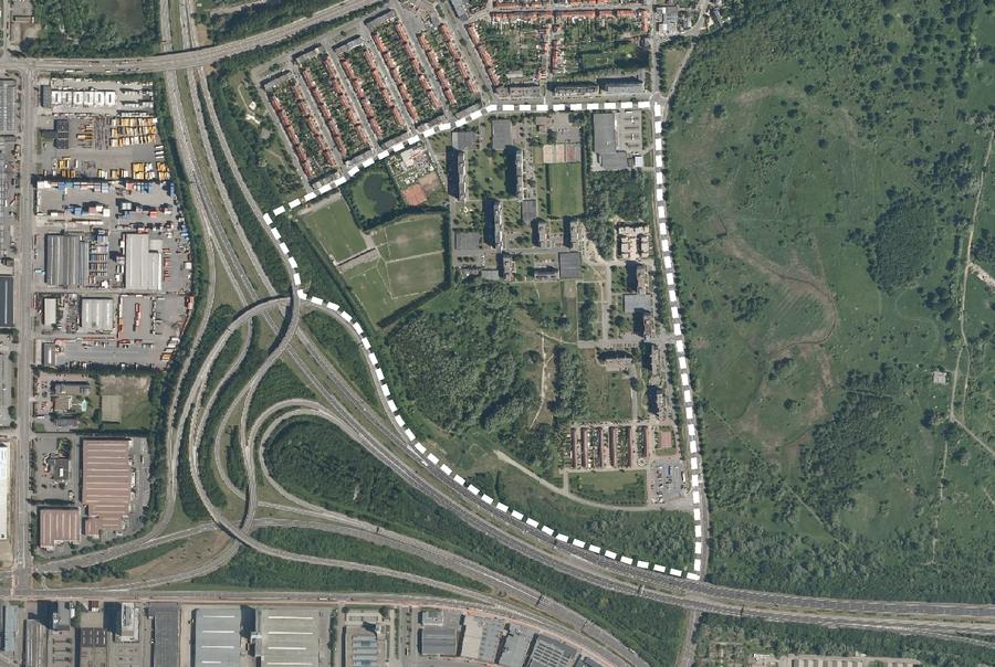 Masterplan Rozemaai plangebied
