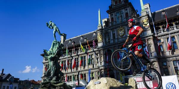 Wereldbeker trialbike