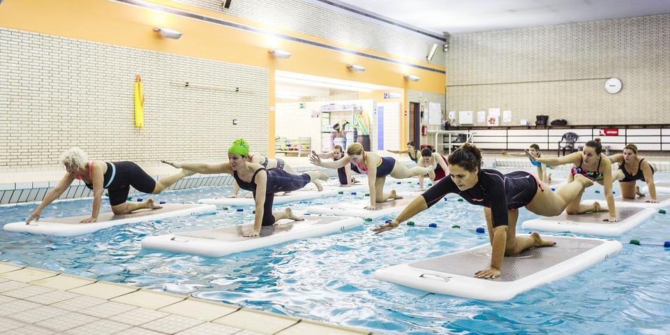 Floatfit in het zwembad