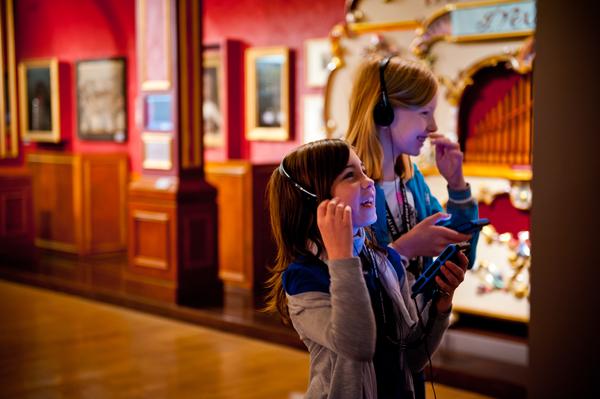 Kinderen in Museum Vleeshuis