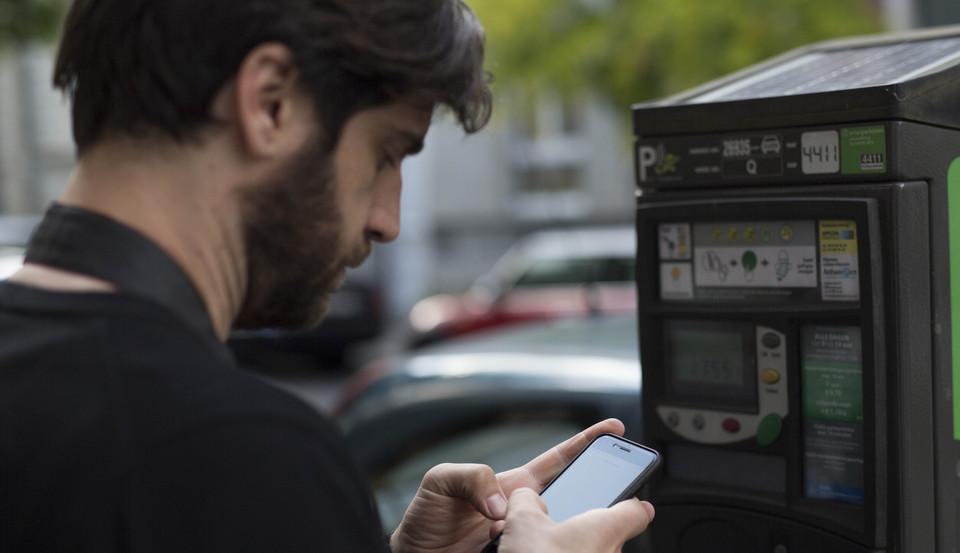 betalend parkeren op Eilandje