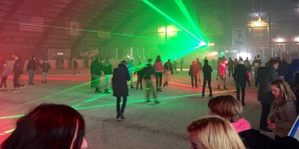 Gratis schaatsen met dj Yves Deruyter e.a.