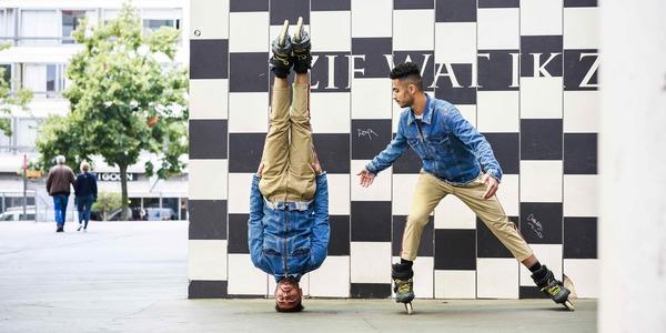 Skate Twins > AG Rollerbikeparade
