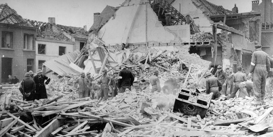V-bom heeft huizen in de Silsburgstraat vernield