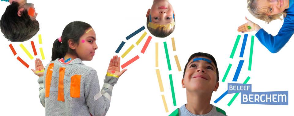 Campagnebeeld van Massage Collage