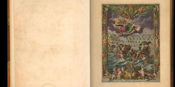 Erfgoedbibliotheek Hendrik Conscience: Atlas Neptune Francois