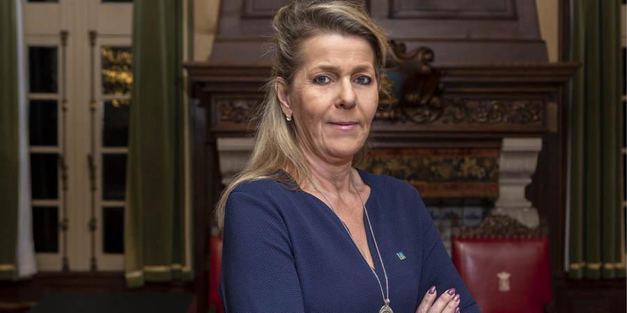 Districtsschepen Linda Verlinden