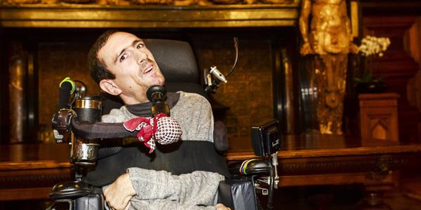 Pieter Cilissen werd bekroond voor zijn derde deelname aan de Paralympics.