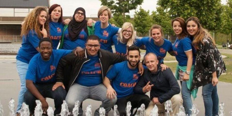 Groep buddycoaches van Kwadraat Antwerpen