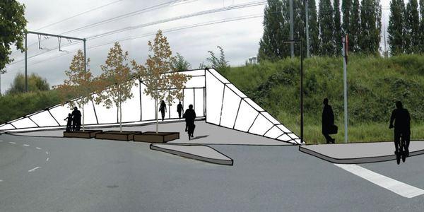 fietstunnel Harold Rosherstraat