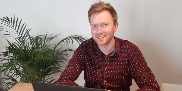 Maarten, recruiter bij stad Antwerpen