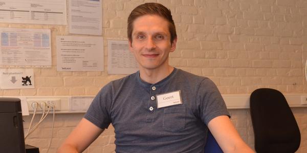 Medewerker Geert van het Webpunt.