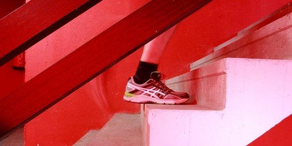 Silverrun trappenloop in de rode toren