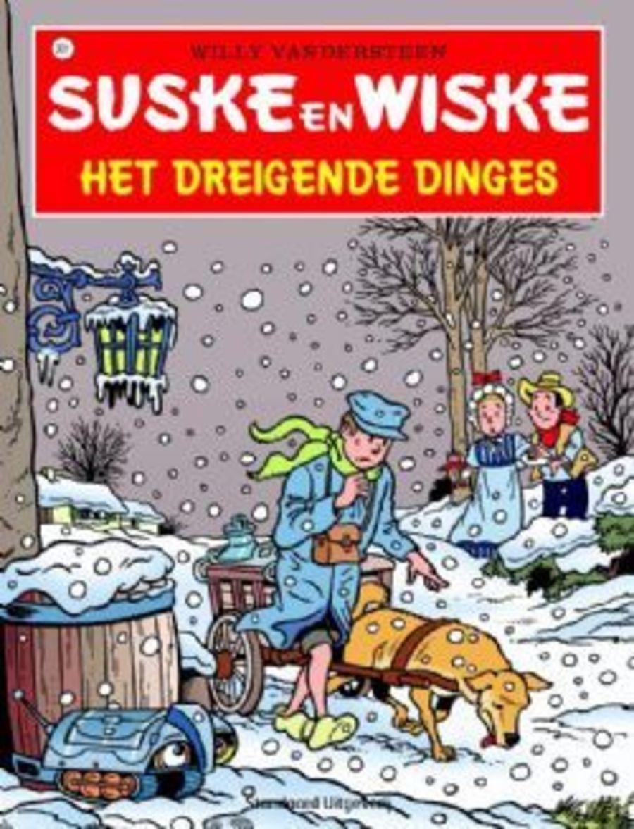 Nello en Patrasche en de melkkar in de sneeuw