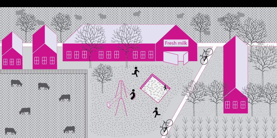 beeld bij verhaallijn 2: het huis in het dorp