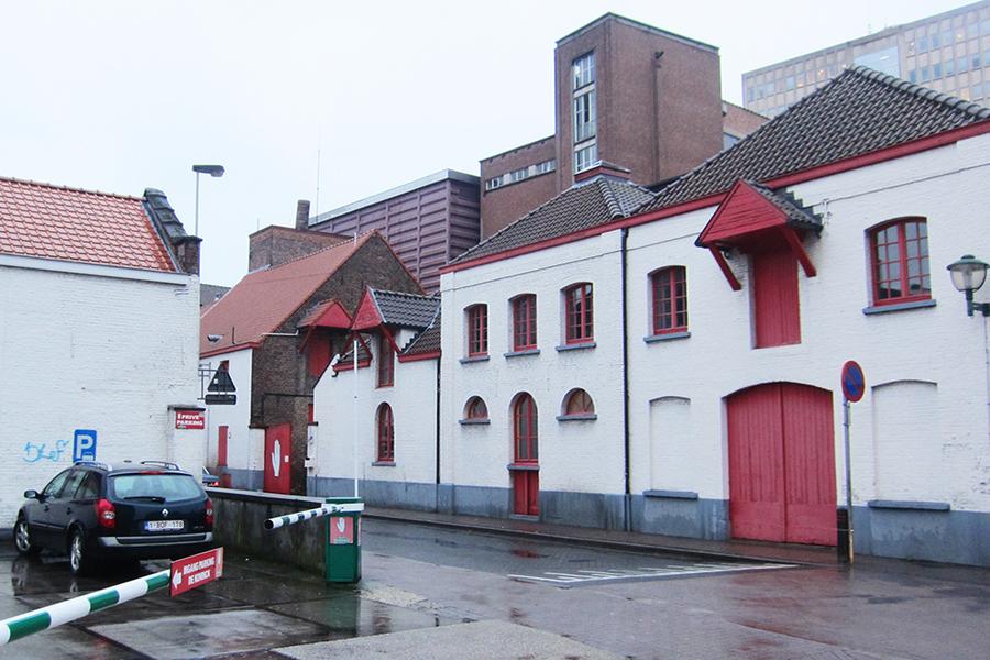 Zijgevel Boomgaardstraat.