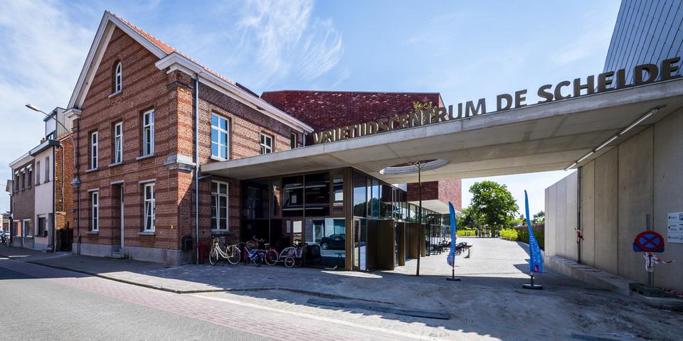 Vrijetijdscentrum De Schelde in Zandvliet, één van de geïnventariseerde panden.