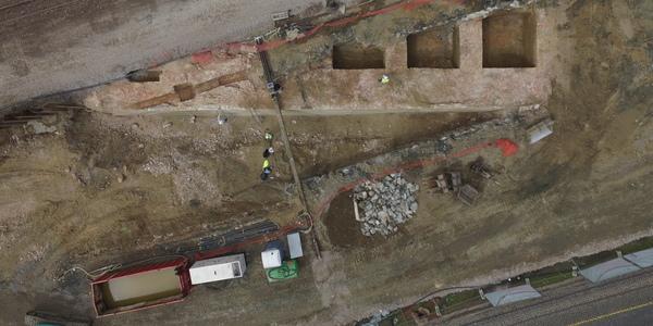 Archeologische opgravingen Noorderlijn gestart