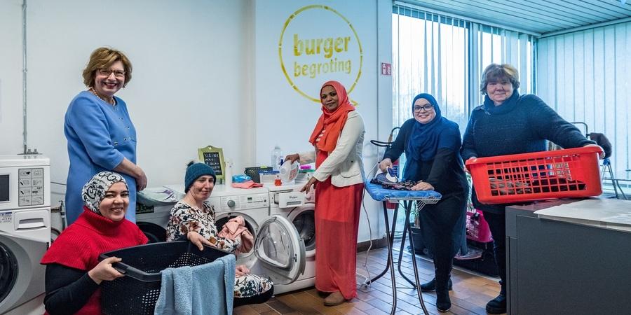 Dames van Burgerbegrotingsproject Ons Huis