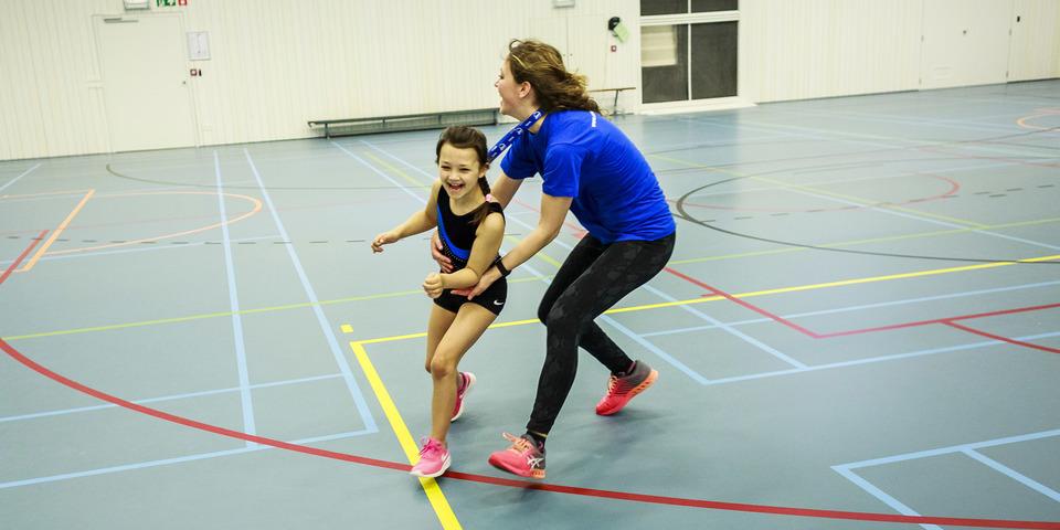 Monitor tijdens de Antwerpse Sportweken