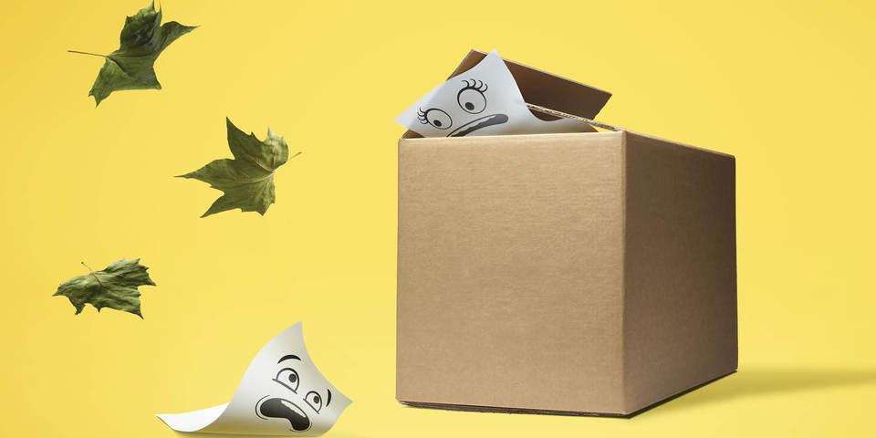 Geef uw papier en karton een veilige thuis