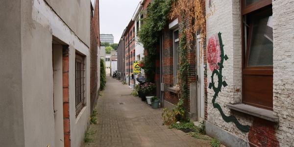 Straat in Deurne Dorp Noord