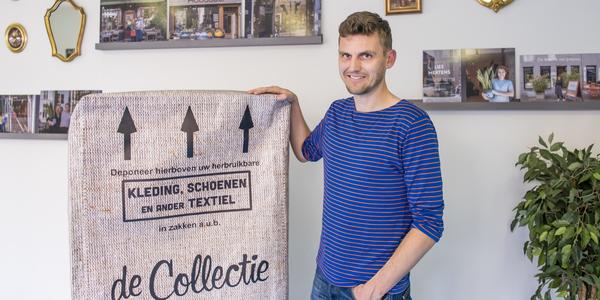 Projectleider Sam Elinck van textielfestival 'Krijg de Klere'