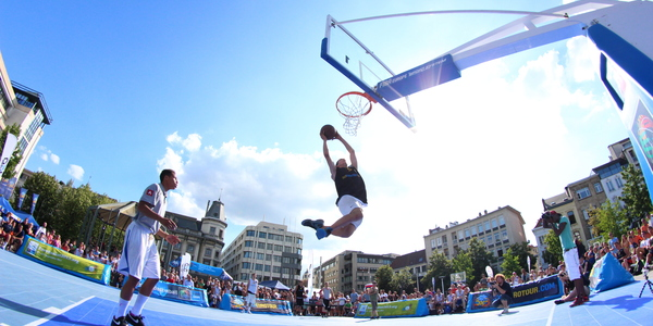Dunk op 3x3 Masters