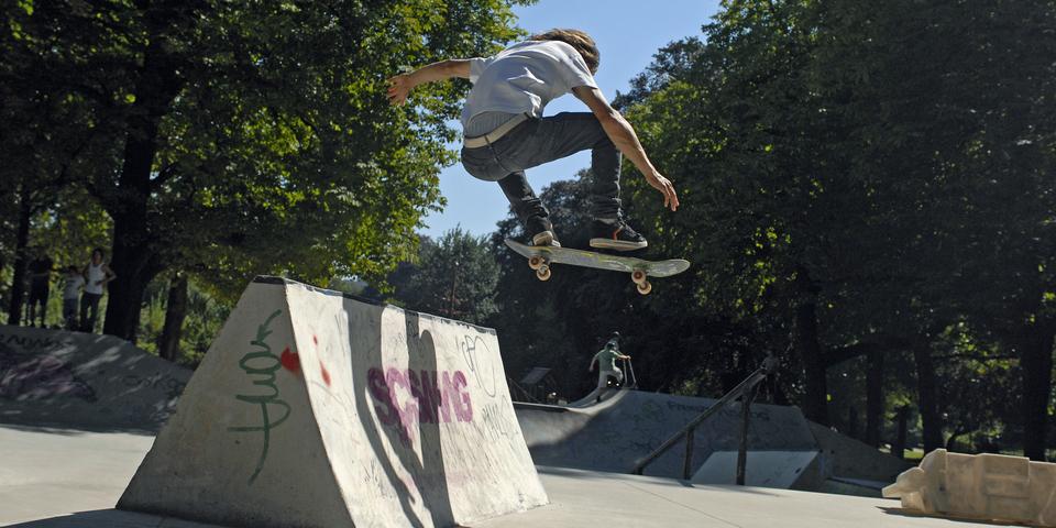 Urban sport in Antwerpen