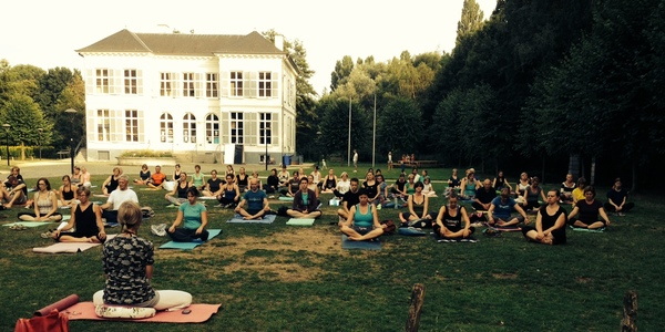 Yoga in Bouckenborghpark