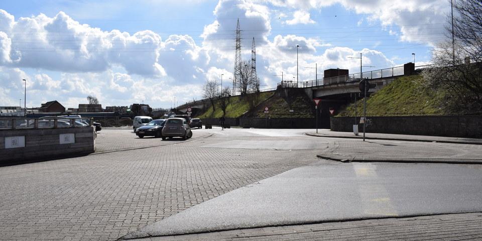 Kruispunt Carrettestraat - Duvelshoek -  Eugeen Meeusstraat