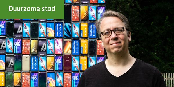 Michel Depière, digitaal strateeg bij de stad