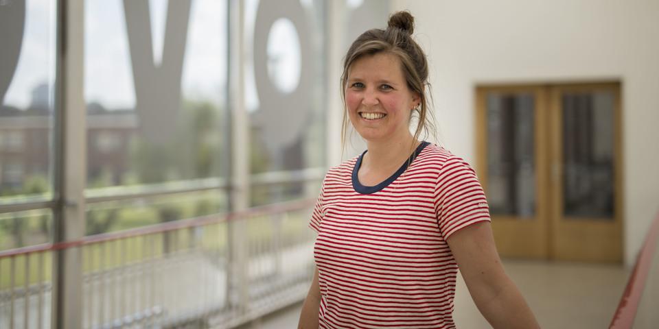 Portretfoto van Nathalie, buurtsportmedewerker