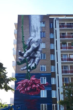 Kleur in de wijk Lange Bremstraat