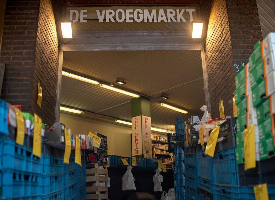 Ingang Vroegmarkt