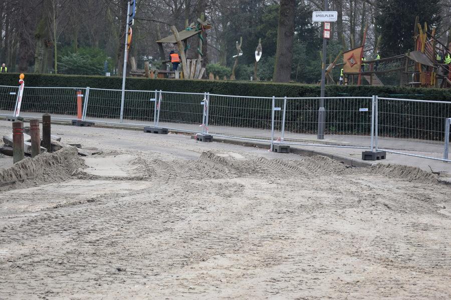 Fase 2 - rijbaan Speelpleinstraat