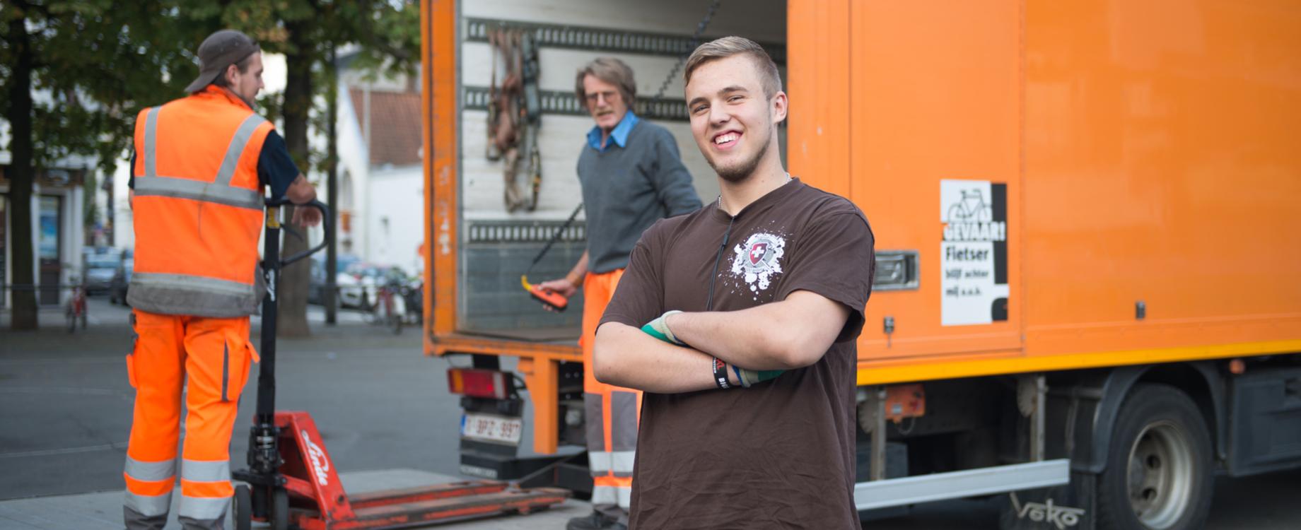 Jobstudent - magazijnmedewerker bij stad Antwerpen