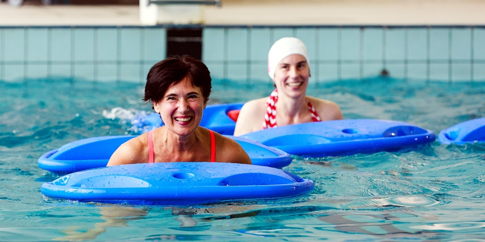 Plezier in het water met Sport en Beweeg Mee