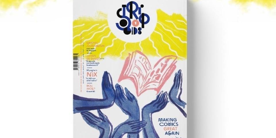 Cover van de nieuwe Stripgids