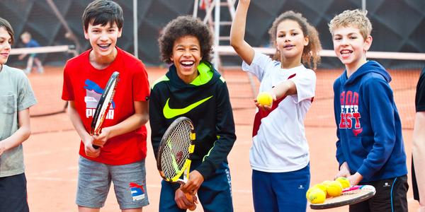 Tennisfun op de Antwerpse Sportweken