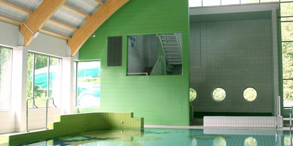 Instructiebad in zwembad Sorghvliedt