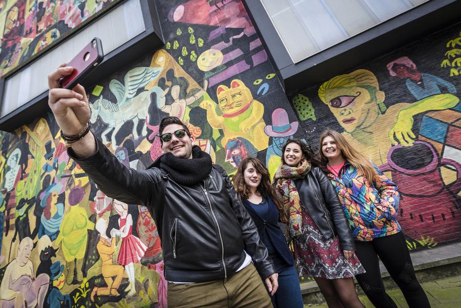 Ontdek street art in Antwerpen met Street Art Cities